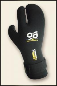 перчатки трехпалые открытая пора